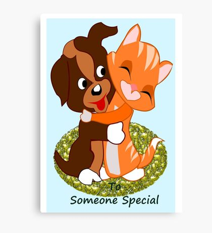 To some one special  (5337 Views) Canvas Print