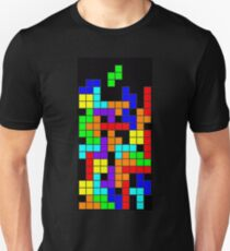 Tetris blocks Unisex T-Shirt