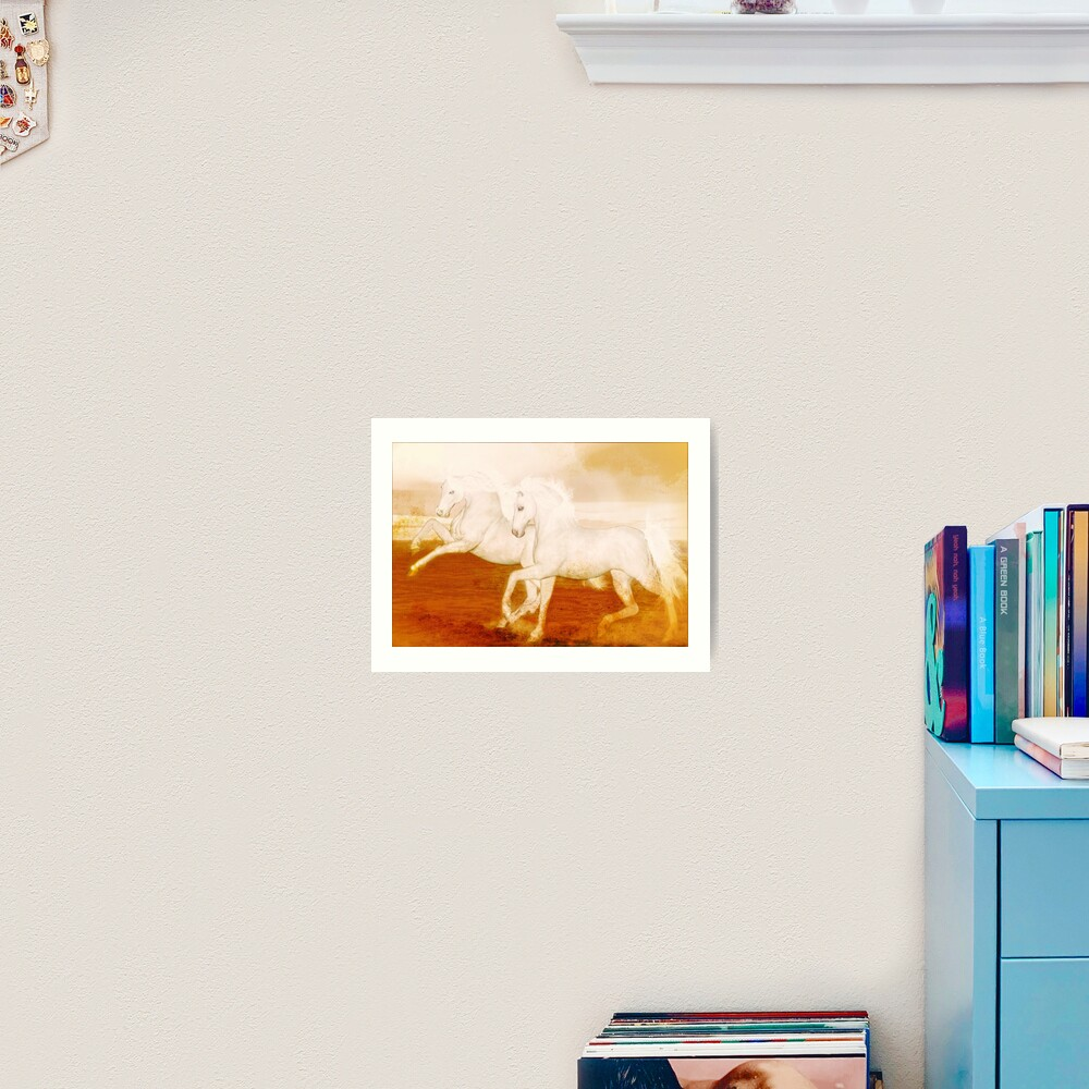 The Andalusians  Art Print
