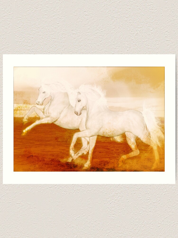 Alternate view of The Andalusians  Art Print
