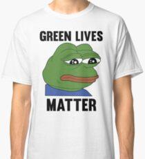 PEPE GREEN LIVES MATTER #GREENLIVESMATTER Classic T-Shirt