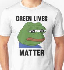 PEPE GREEN LIVES MATTER #GREENLIVESMATTER T-Shirt