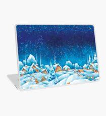 Snowy Winter Landscape Laptop Skin
