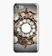 jewelled diamond pearl brooch decadent allure iPhone Case/Skin