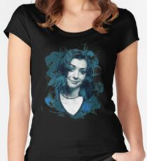 Splatter Willow Women's Fitted Scoop T-Shirt