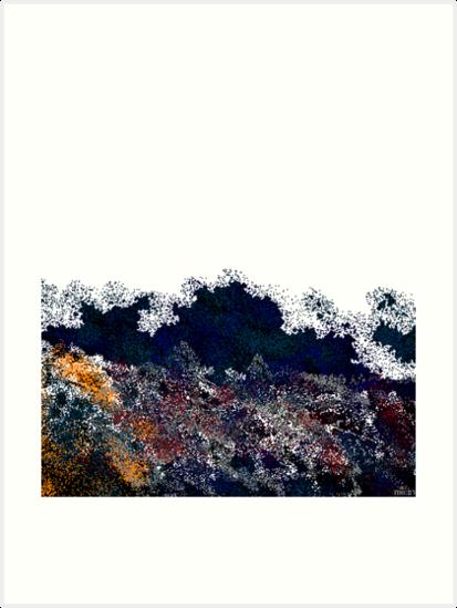 ridge with pines 2 by mhkantor
