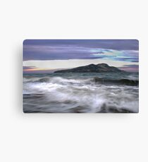 Twilight Holy Isle Canvas Print