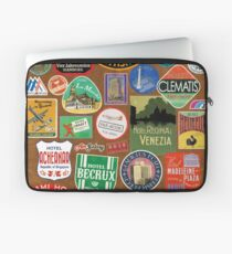 Luggage Stickers Laptop Sleeve