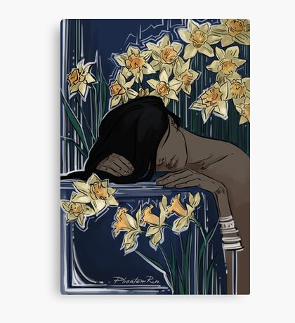 please don't wake me Canvas Print