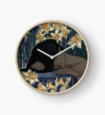 please don't wake me Clock