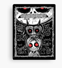 Ben Drowned CreepyPasta  Canvas Print