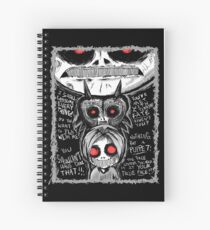Ben Drowned CreepyPasta  Spiral Notebook
