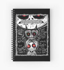 Cuaderno de espiral Ben ahogó CreepyPasta