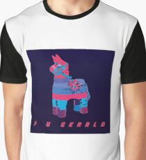 F U GERALD Psychedelic Graphic T-Shirt