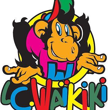 vintage 80's monkey by G3no