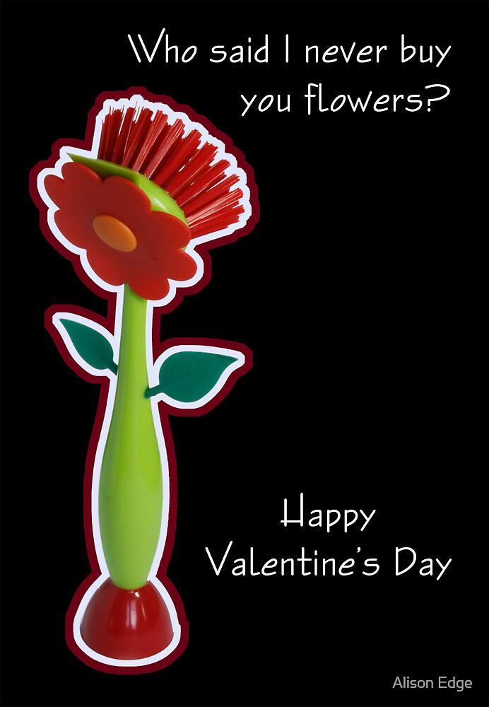 Valentine Humour by Alison Edge