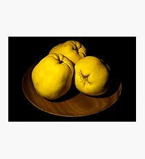 Quinces Photographic Print