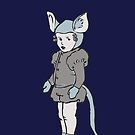 Mouse girl by jellibat
