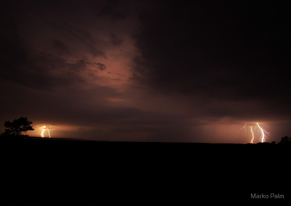 Thunderstorm by Marko Palm