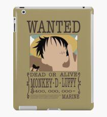 Monkey D Luffy iPad Case/Skin