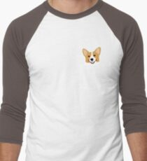 Corgi In Pocket Funny Cute Puppy Big Happy Smile T-Shirt
