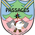 """Passages Through Time Coat of Arms by Kira """"Karma"""" Atwood-Youngstrom by Multnomah ESD Outdoor School"""
