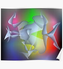 brainwave, colorful fantasy picture Poster