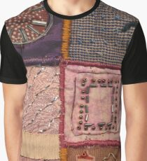 PATCHWORK #pearls #decoration Graphic T-Shirt