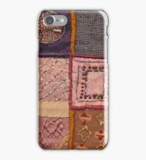 PATCHWORK #pearls #decoration iPhone Case/Skin