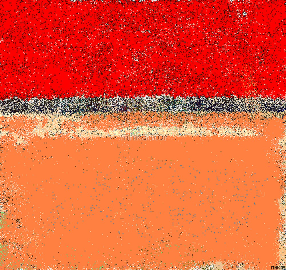 rosy rosy red homage to richard diebenkorn by mhkantor