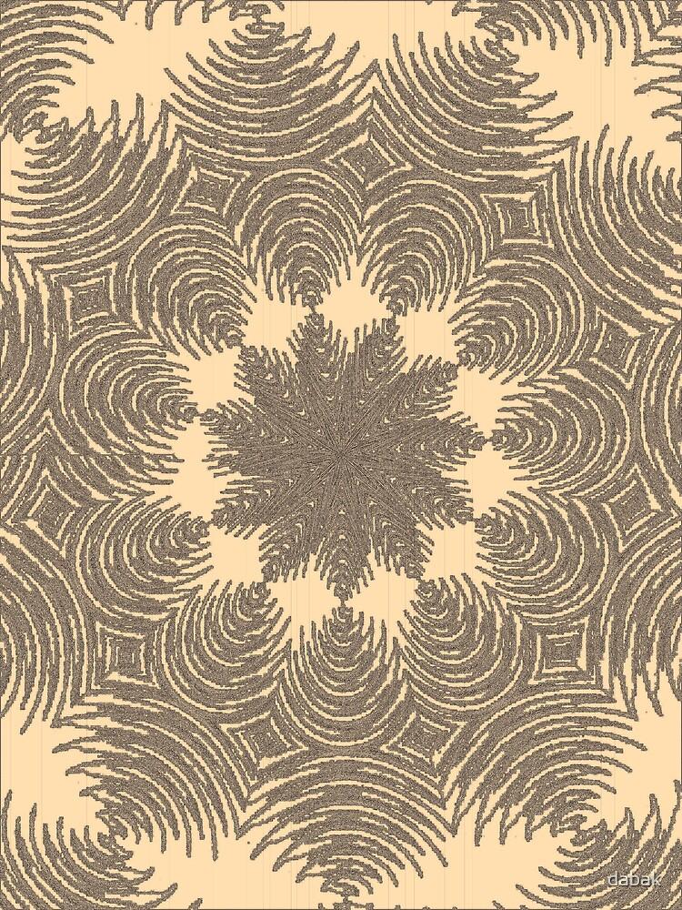 Aging pattern by dabak