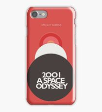 2001 a Space Odyssey, Stanley Kubrick, movie poster, fantasy, space, film, sci-fi iPhone Case/Skin