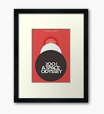 2001 a Space Odyssey, Stanley Kubrick, movie poster, fantasy, space, film, sci-fi Framed Print