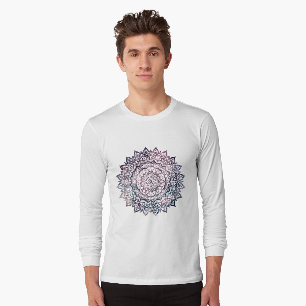 JEWEL MANDALA Long Sleeve T-Shirt