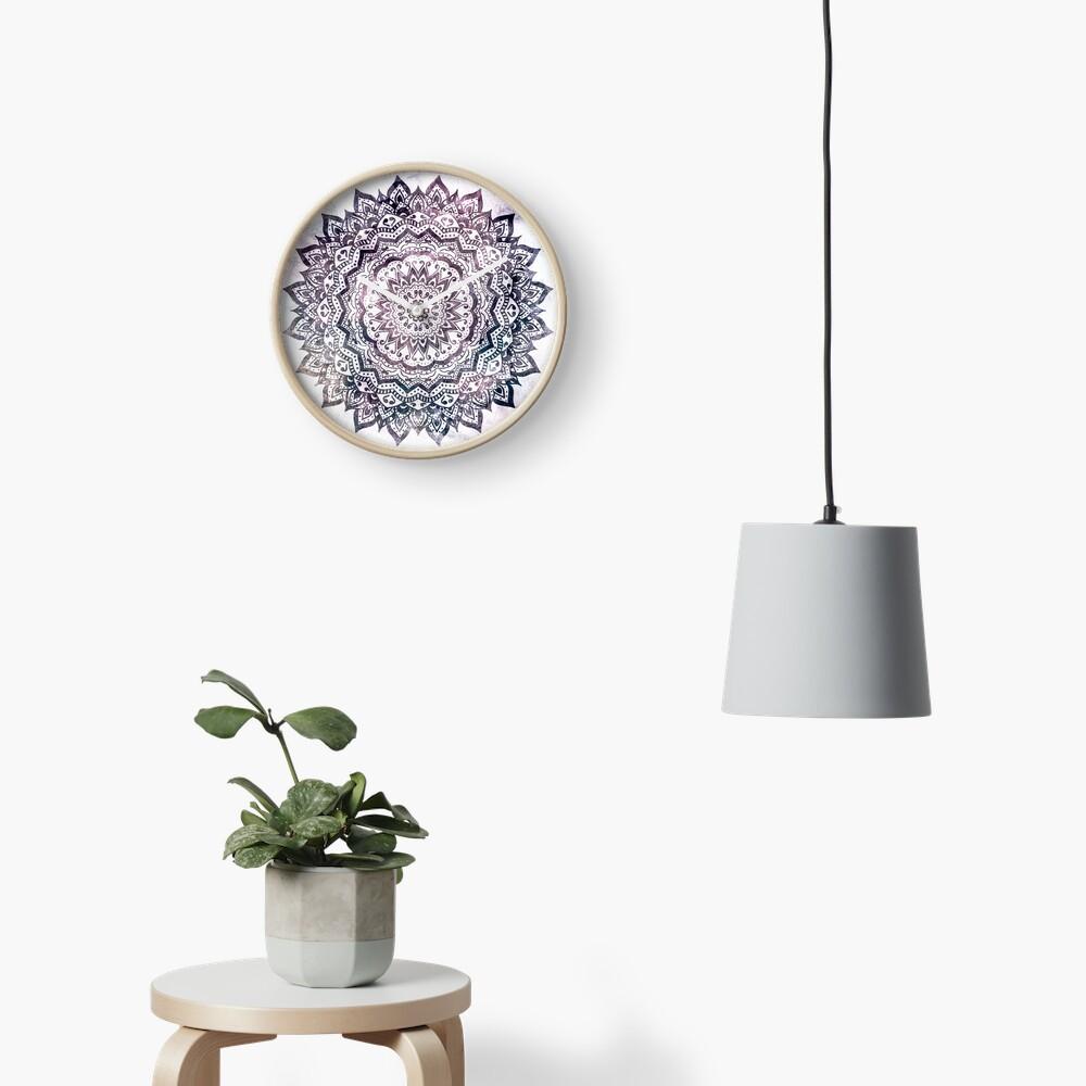 JEWEL MANDALA Clock