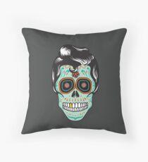 Cojín Psychobilly Sugar Skull