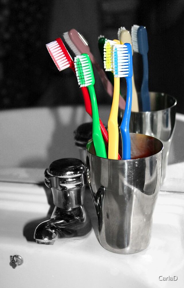 Family of Toothbrushes by CarlaD