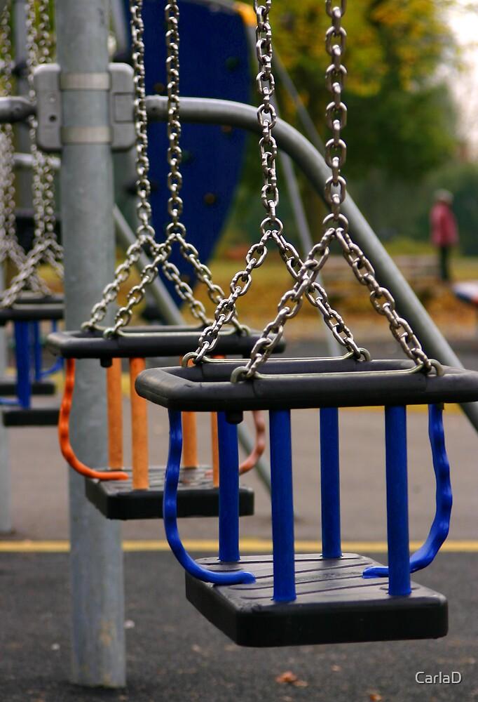 Empty Swings by CarlaD