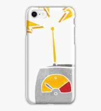 retro cartoon science equipment iPhone Case/Skin