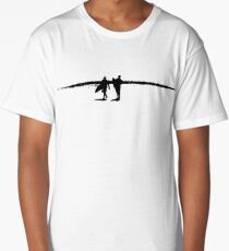 Surfers at the Pass Long T-Shirt