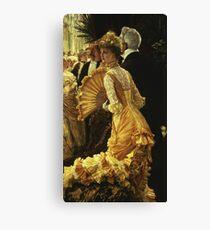 James Tissot  - The Ball Canvas Print
