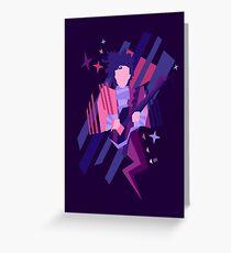 Purple Ghost Greeting Card