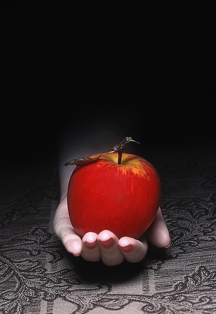 An Apple by Elisabeth  Harvey