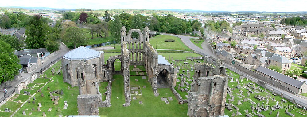 Elgin Cathedral  by Heather Holmer