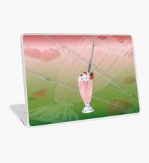 Flute Strawberry Musical Milkshake Laptop Skin