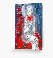 the priestess Greeting Card