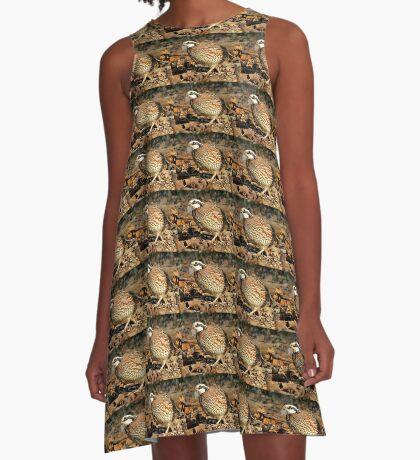 I'm A Male Quail! A-Line Dress