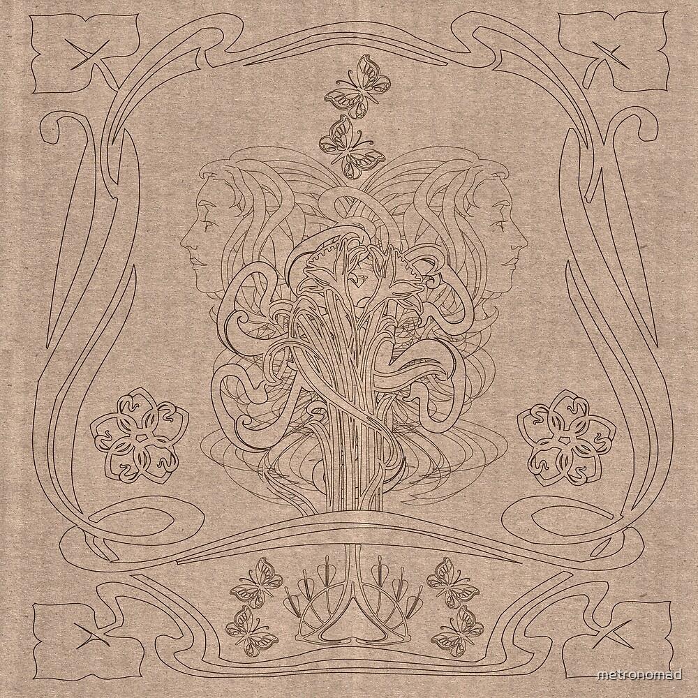 Art Nouveau II by metronomad