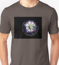 A Dazzling Stained Glass Jewel Emerging From the Darkness T-Shirt