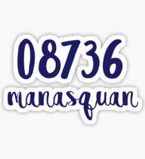 manasquan zip code  Sticker